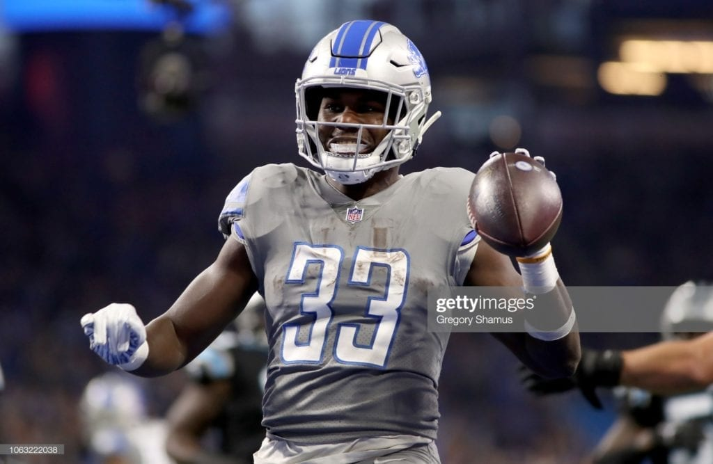 NFC North Breakdown: David Montgomery, Kerryon Johnson, Aaron Rodgers, Dalvin Cook and more. 1