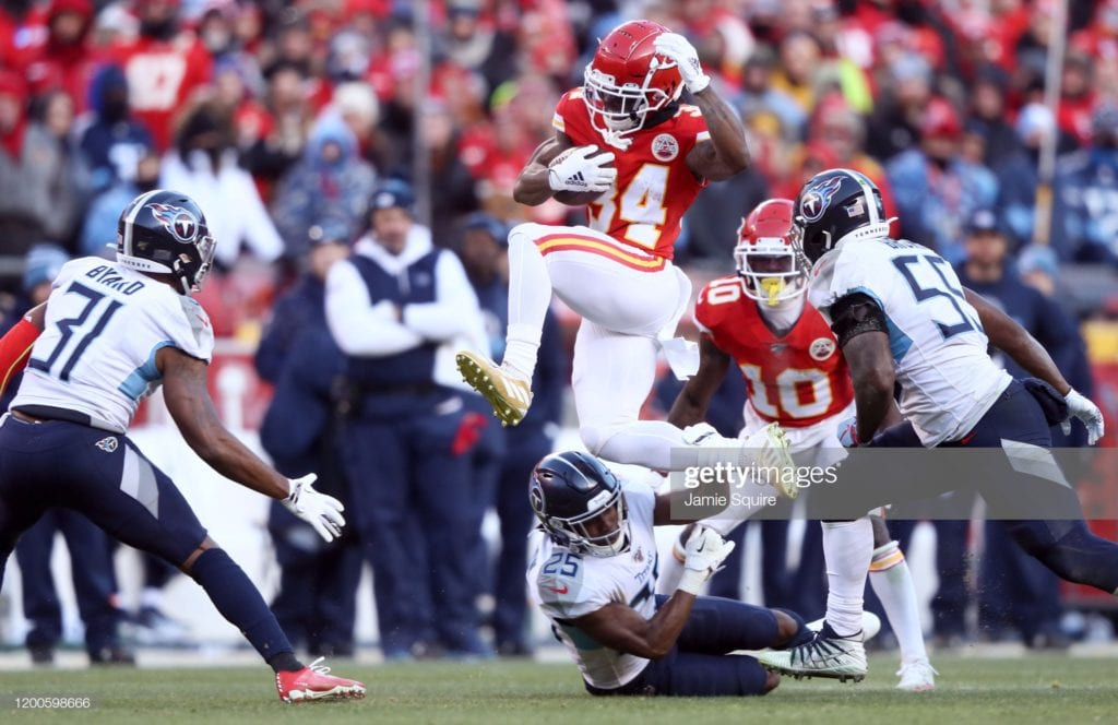 Buy/Sell: The starting RB for the Kansas City Chiefs is currently on their roster 1