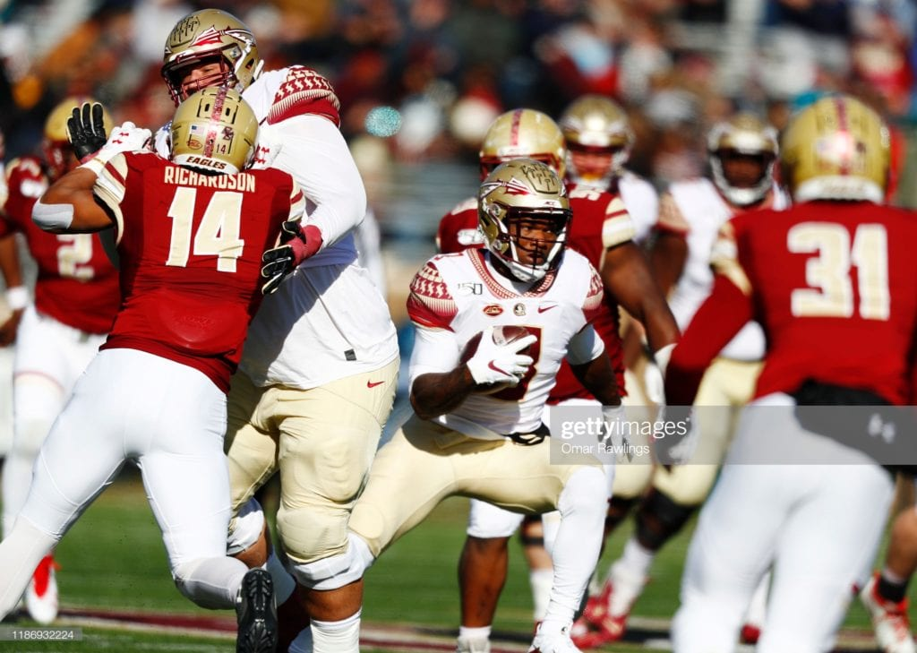 Cam Akers - Part 1 - College Evaluation 1