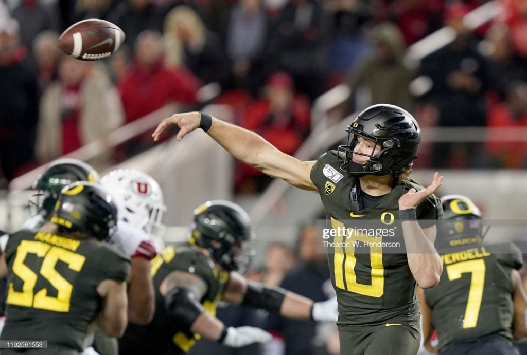Justin Herbert - Part 1 - College Evaluation 2