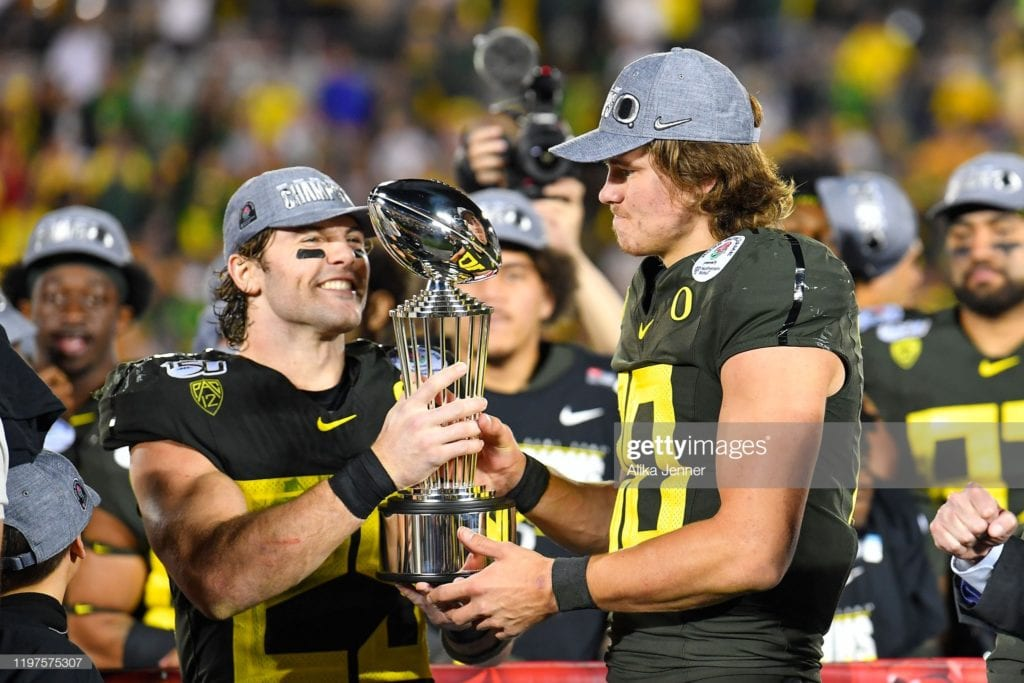 Justin Herbert - Part 1 - College Evaluation 3