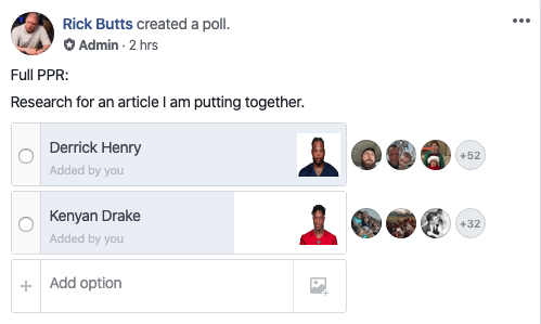 Derrick Henry vs. Kenyan Drake