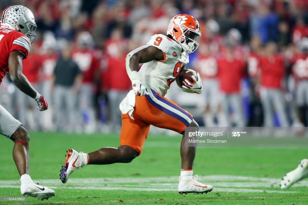 Travis Etienne - Devy Rankings