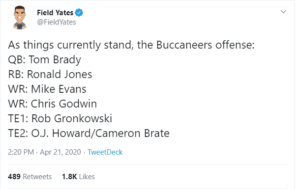 Gronkowski Traded to Buccaneers