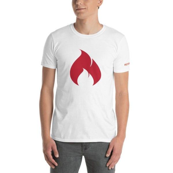 Short-Sleeve On Fire Men's T-Shirt 1