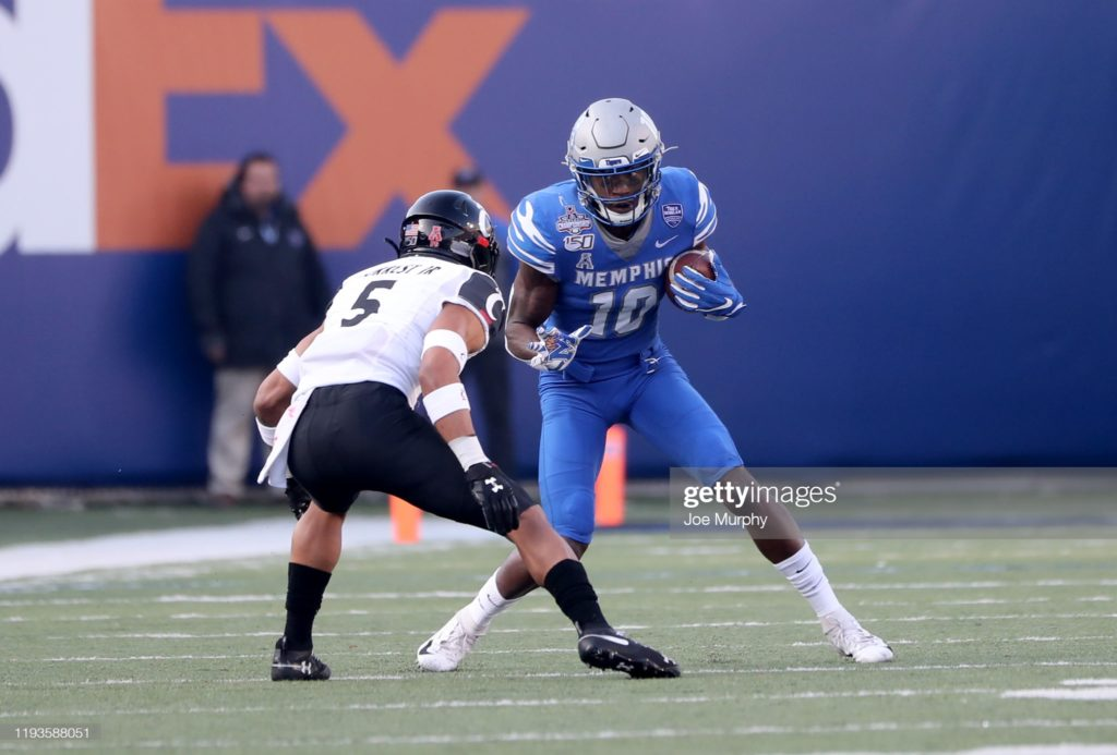 Damonte Coxie Fantasy Football Profile - 2021 NFL Top Prospects