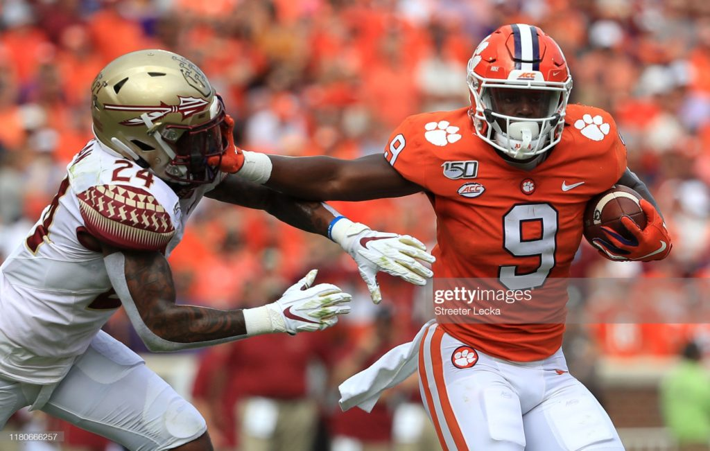 ETN1 Travis Etienne Fantasy Football