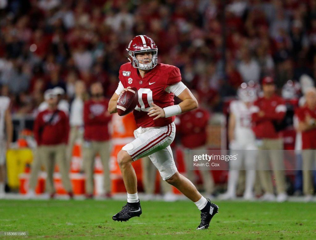 Mac Jones Fantasy Football Profile - 2021 NFL Top Prospects