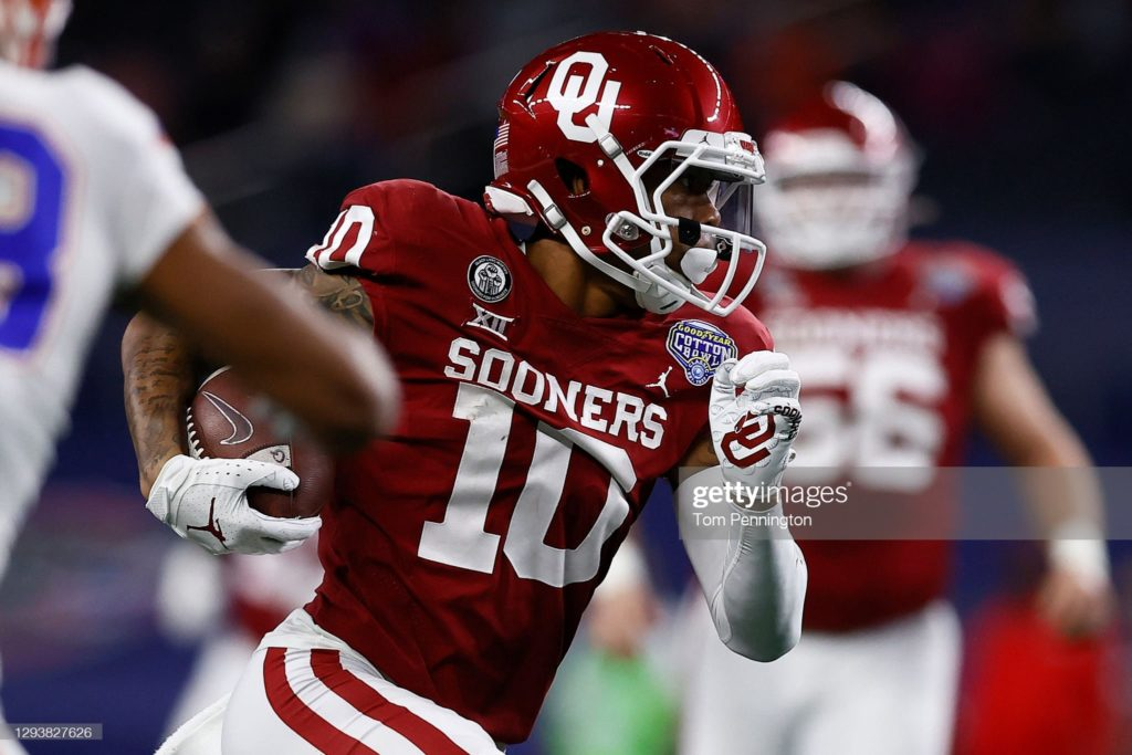 My Bold Top 10 Devy Wide Receivers for 2021