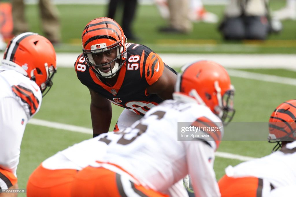 Edge Rusher/Defensive End Carl Lawson is going to the Jets