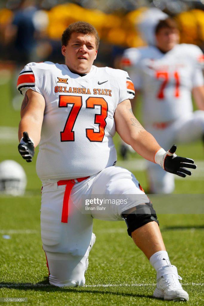 Teven Jenkins min 2021 NFL Mock Draft