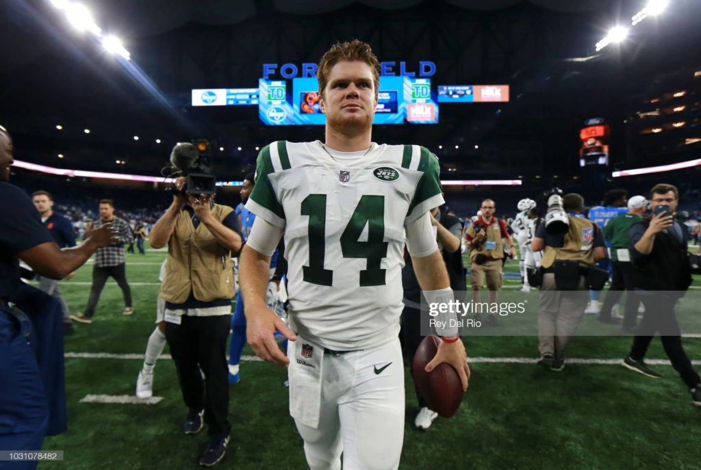 gettyimages 1031078482 2048x2048 min New York Jets Trade Sam Darnold to the Carolina Panthers