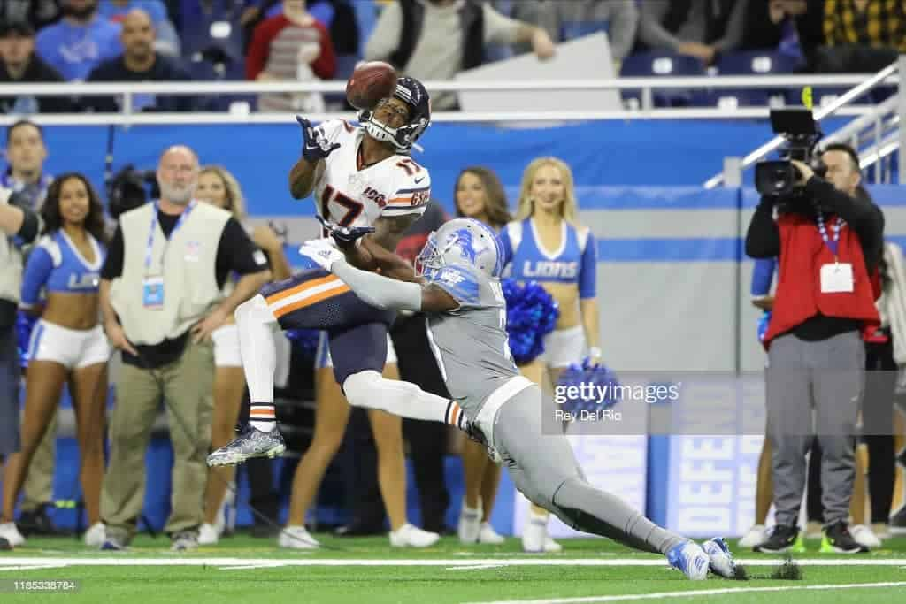 1 min Anthony Miller traded to the Houston Texans