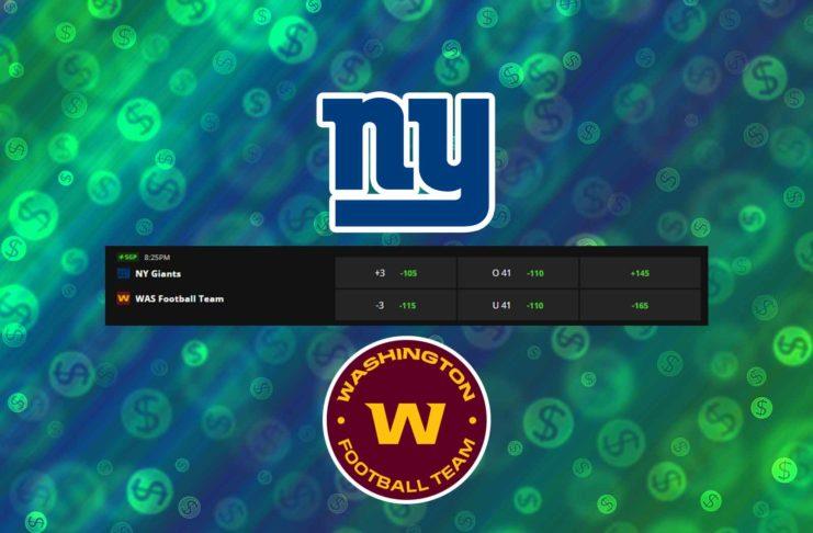 New York Giants at Washington Football Team Picks vs. Spread